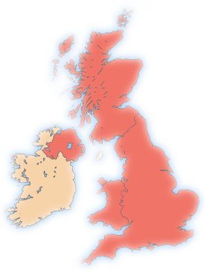 Parcels Delivered Throughout the United Kingdom