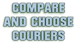 Compare and choose parcel couriers